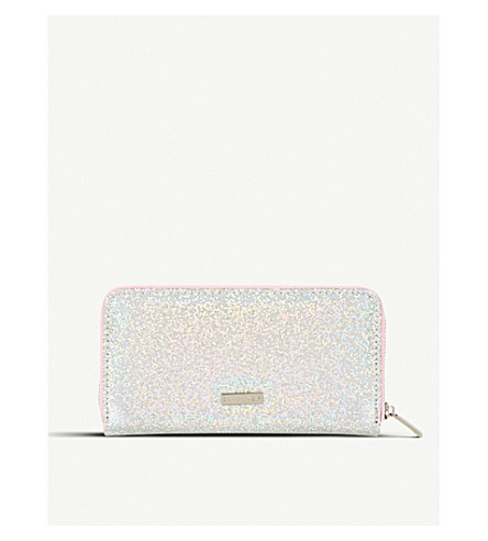 SKINNYDIP Smiley glittered purse (Smiley