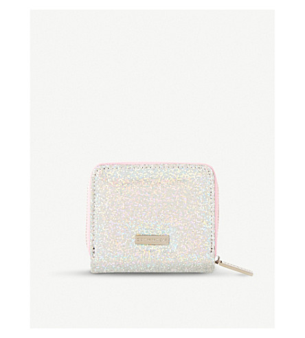 SKINNYDIP Smiley glittered small purse (Smiley