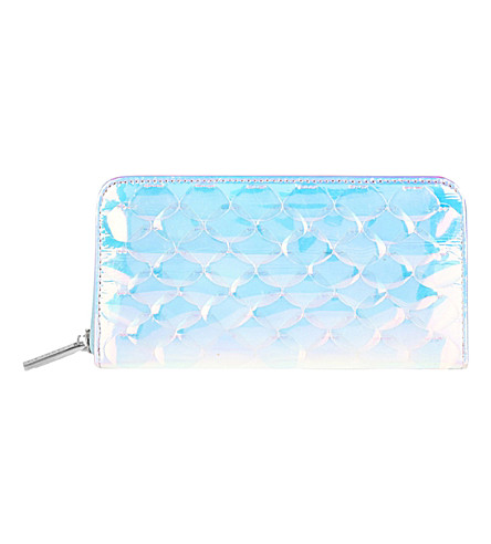 SKINNYDIP Bianca holographic purse (Multi