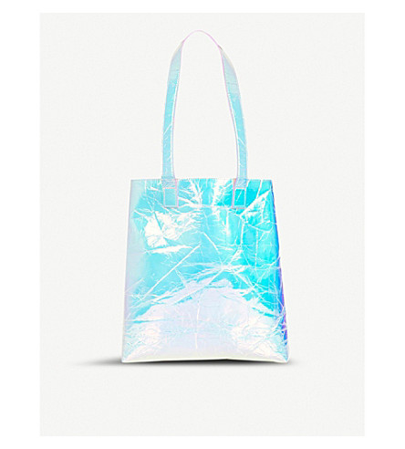 SKINNYDIP Shine faux-leather tote bag (Shine