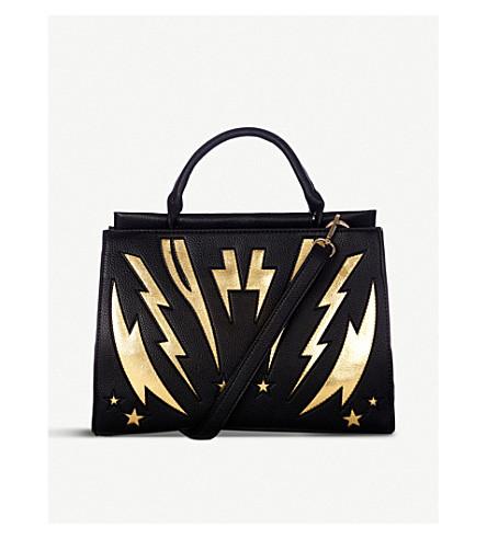 SKINNYDIP Bolt textured faux-leather tote bag (Bolt+bag