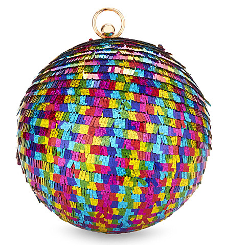 SKINNYDIP Disco ball clutch (Multi