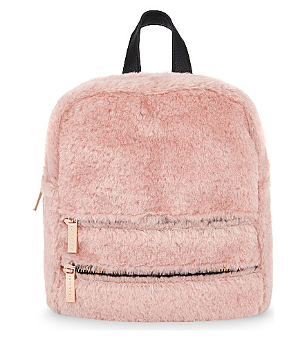 SKINNYDIP Molly Pink Fluff backpack (Pink
