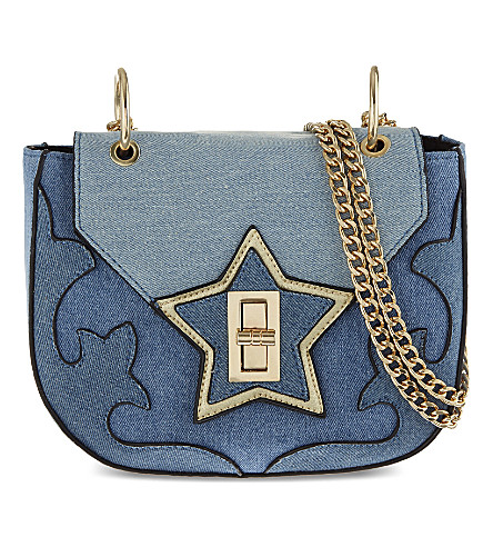 SKINNYDIP Vixen denim shoulder bag (Multi