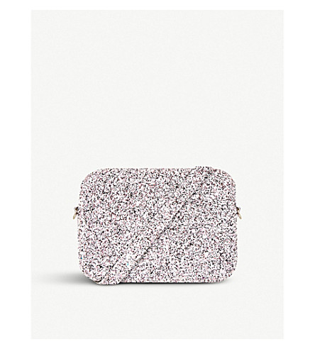 SKINNYDIP Glitter Adley crossbody bag (Jewel+tin