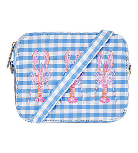 SKINNYDIP Tin cross-body bag (Blue