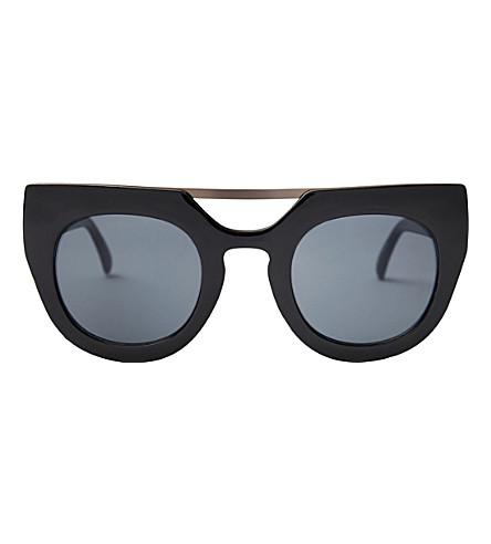 SKINNYDIP Cara chunky sunglasses (Black