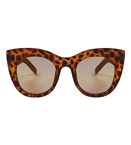 SKINNYDIP Amelie Chunky Kitten sunglasses (Tort