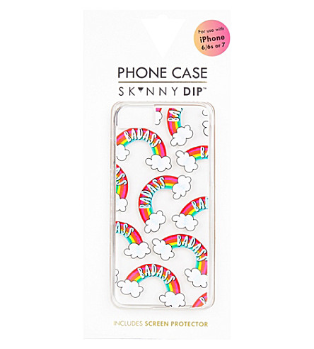 SKINNYDIP Bad rainbow plastic iPhone 6/7 plus case (Multi