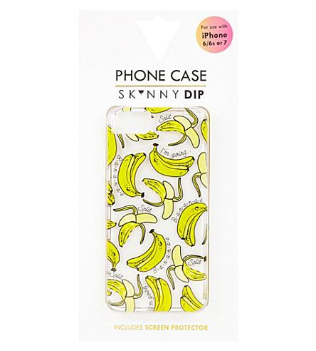 SKINNYDIP Banana iPhone 6/6s Plus or 7 Plus case (Multi