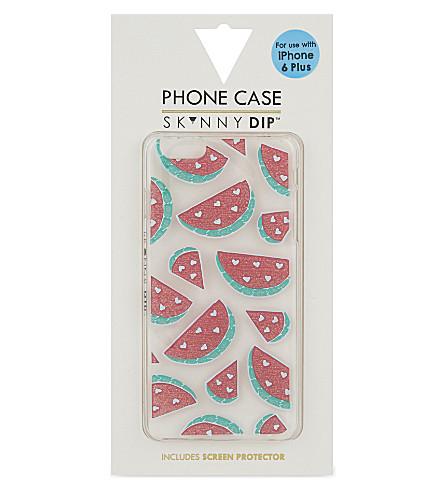 SKINNYDIP Watermelon iPhone 6+ case (Multi