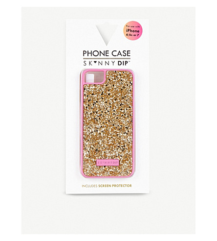 SKINNYDIP Glitter iPhone 6 Plus/7 Plus case (Gold