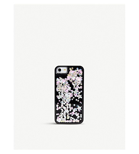 SKINNYDIP Castor sequinned plastic case iPhone 6/7 plus (Castor