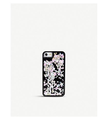 SKINNYDIP Castor sequinned plastic case iPhone 6/7 plus (Castor