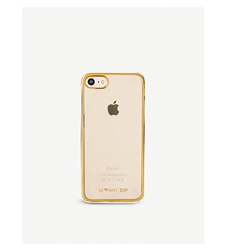 SKINNYDIP Protective soft iPhone 7 Plus case (Gold