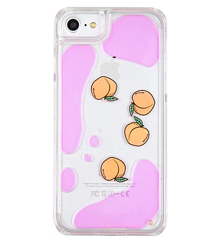 SKINNYDIP Peach charm iPhone 6 and 7 plus case (Multi