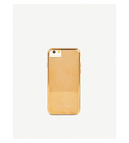 SKINNYDIP Mirrored rose-gold tone plastic iPhone 6/7 plus case (Rose+gold+chrome