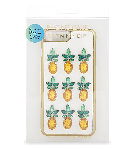 SKINNYDIP Pineapple gem iPhone 6/6s Plus or 7 Plus case (Multi