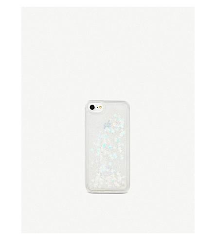 SKINNYDIP Snowflake iPhone 6/7+ case (Glitter+snowflake