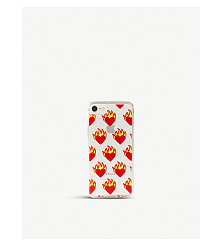 SKINNYDIP Flame Heart iPhone 6/7 plus case (Flame+heart