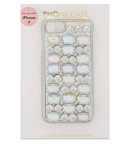 SKINNYDIP Jewel iPhone 6/6s case (Silver