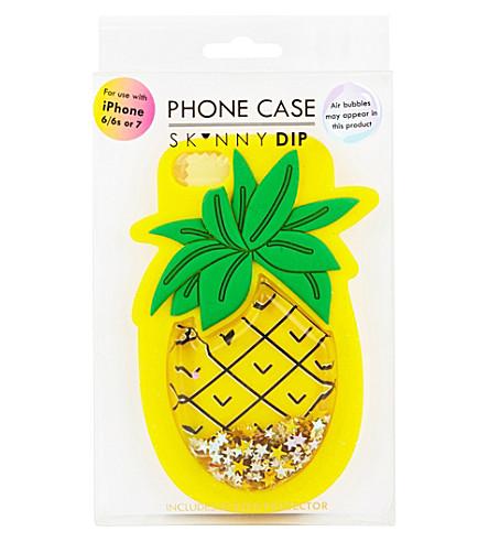 SKINNYDIP Pineapple iPhone 6/6s or 7 case (Multi