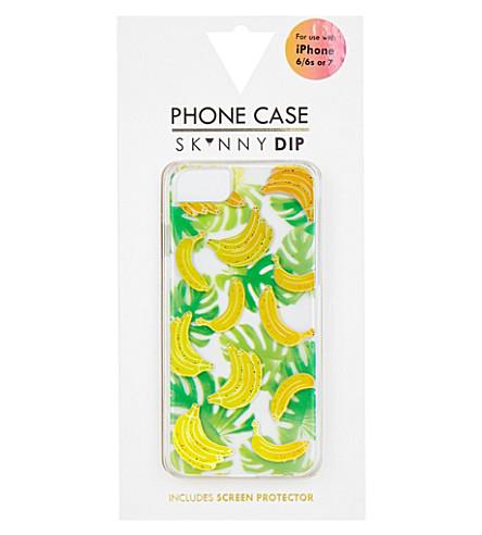 SKINNYDIP Banana iPhone 6/7 case (Multi