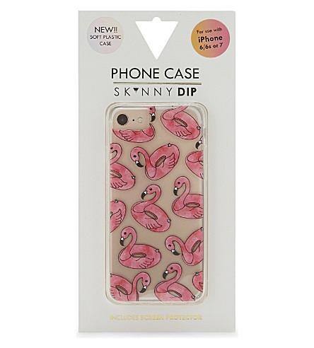 SKINNYDIP Flamingo float iPhone 6/6s/7 case7 (Pink