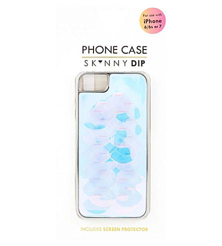 SKINNYDIP Bermuda plastic iPhone 6/7 case (Multi