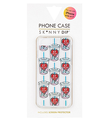SKINNYDIP Icy Heart plastic iPhone 6/7 case (Multi
