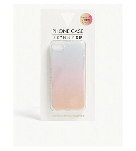 SKINNYDIP Glitter sunset iPhone 6, 6S, 7 and 8 case (Multi