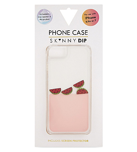 SKINNYDIP Watermelon charm iPhone 6/6s or 7 case (Pink
