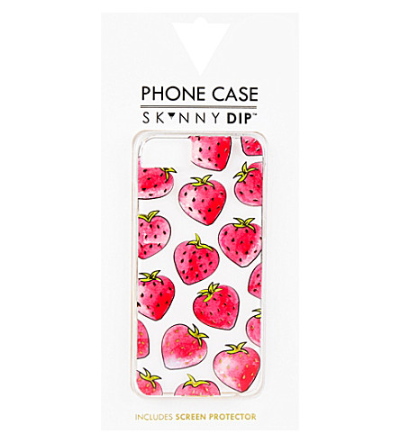 SKINNYDIP Strawberry iPhone 6/6s or 7 case (Pink