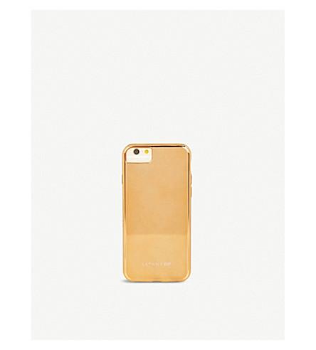 SKINNYDIP Rose Gold Chrome iPhone 6/7 case (Rose+gold+chrome
