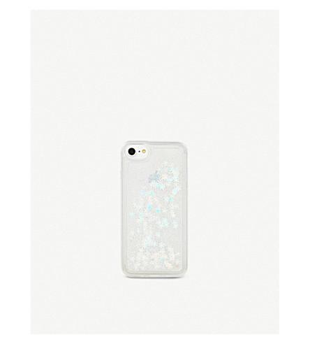 SKINNYDIP Snowflake iPhone 6/7 case (Glitter+snowflake