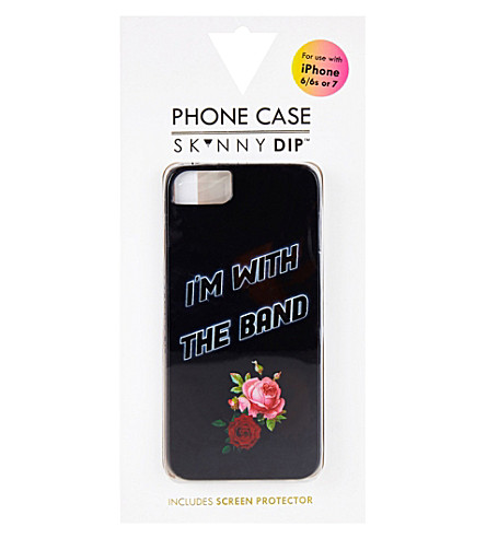 SKINNYDIP I'm with the band iPhone 6/6s/7 case (Multi