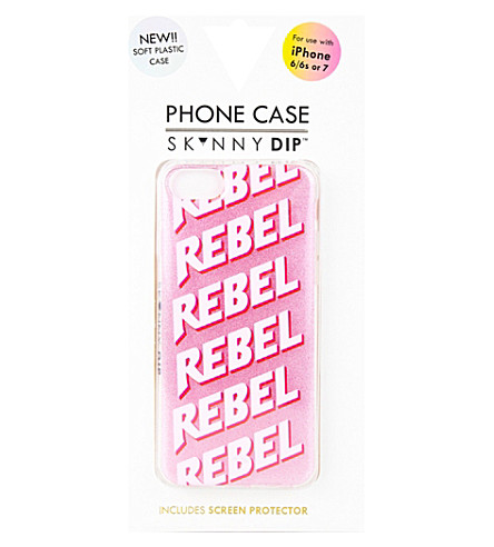 SKINNYDIP Glitter Rebel iPhone 6/6s Plus and 7 Plus case (Multi