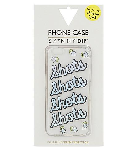 SKINNYDIP Shots iPhone 6/6S case (Multi