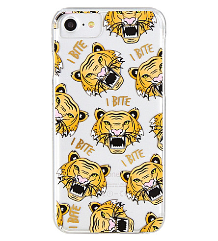 SKINNYDIP Rawr tiger-print iPhone case (Multi