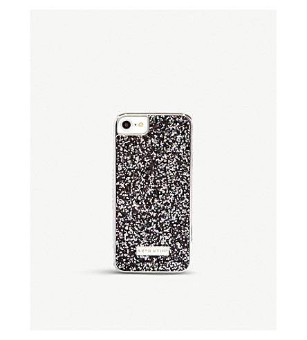 SKINNYDIP Midnight glittered iPhone 6/6s/7 case (Midnight