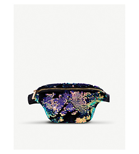 SKINNYDIP All-over sequin bumbag (Luxe
