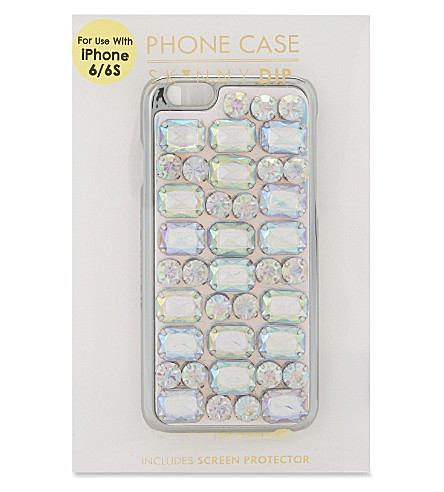 SKINNYDIP Jewel iPhone 7 case (Silver