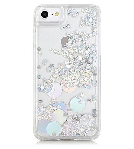 SKINNYDIP Holo Circle iPhone 7 case (Multi