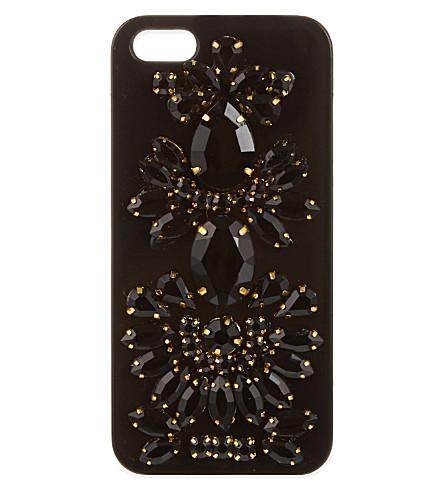 SKINNYDIP Jewelled iPhone 5 case (Black
