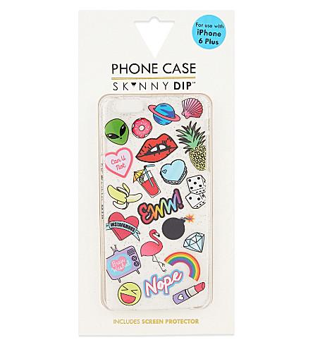 SKINNYDIP Doodle iPhone 6+ case (Multi