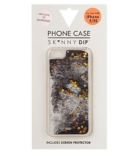 SKINNYDIP Liquid iphone 5 case (Black