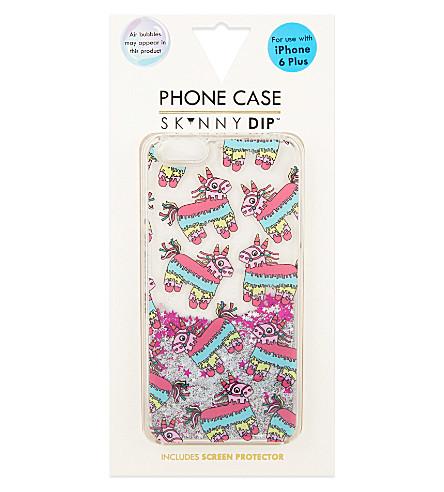 SKINNYDIP Glitter Piñata iPhone 6+ case (Multi