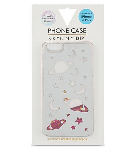 SKINNYDIP Space glitter iPhone 6 plus case (Multi