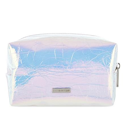 SKINNYDIP Hyper make up bag (Silver