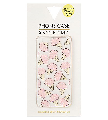 SKINNYDIP Ice cream iPhone 6/6S/6+ case (Pink